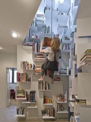 Los libros en el tragaluz. Leer una diversión