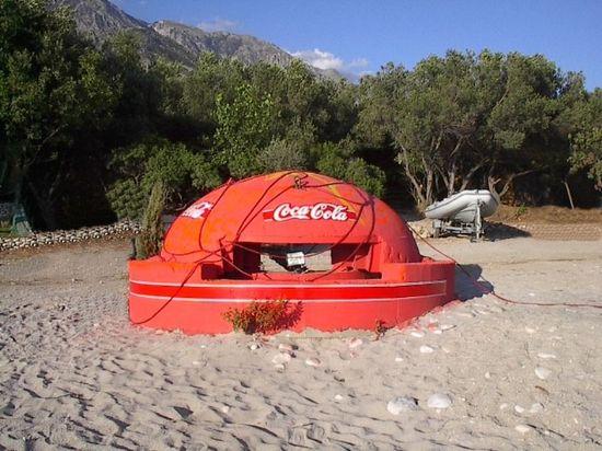 Bunker coca cola