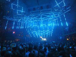 Espectáculo con luces led