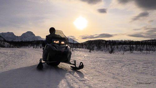 Montinieves en Lyngen (Laponia)-Paco Nadal