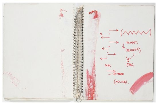 Basquiat cuaderno