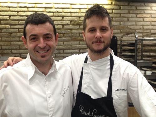 Ricard Camarena y Alberto Alonso, alias Pachi