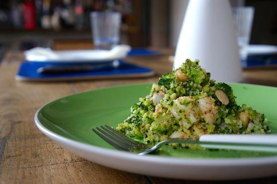 Cuscus brocoli