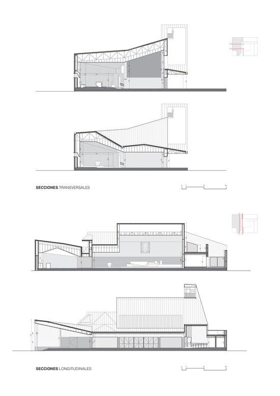 AGi architects_Iglesia_Secciones