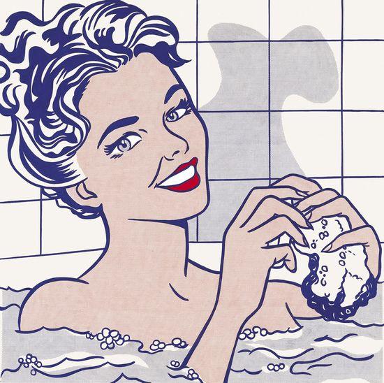 Roy-lichtenstein-mujer-en-baño-2