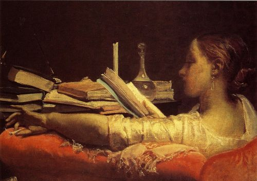 Lalectora-federico-faruffini-la-lectora-1864