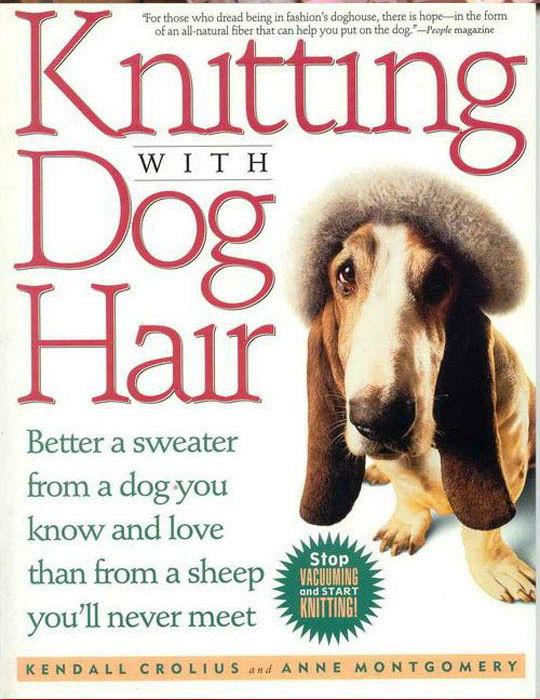 Tejiendo con pelo de perro
