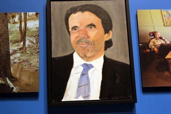 Aznar cuadro
