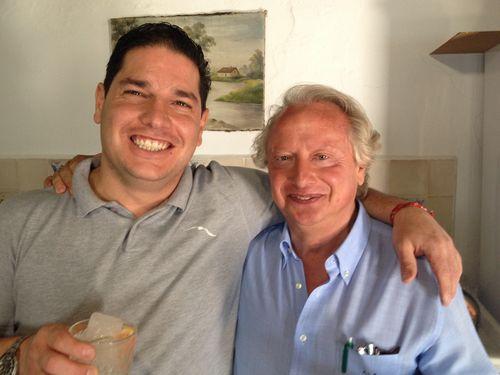 Javi Baltazares y Andrés López Raya