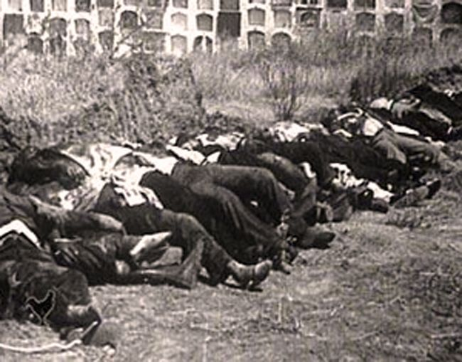 Guerra civil masacre de badajoz