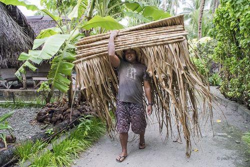 Tejedor techos Kapingamarangi-Paco Nadal