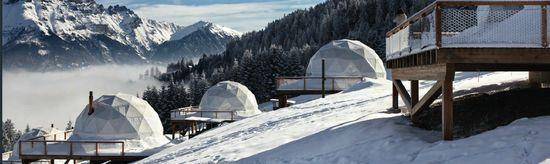 Iglues en Suiza