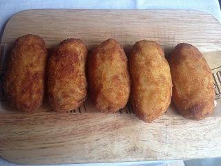 Las famosas croquetas de Nacho Manzano, entre las mejores de España. Nacho asegura que la calidad de la leche inglesa influye en los resultados. Arrebatan a los ingleses