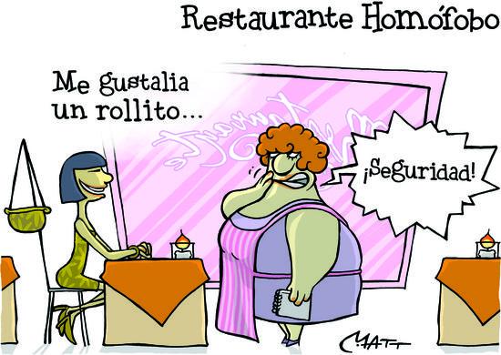 Restaurante homoìfobo