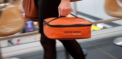Bolsa de pic nic de Gordon Ramsay, perfectamente diseñada para llevar a bordo