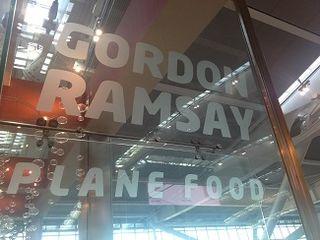 Plane Food, con la firma de Gordon Ramsay
