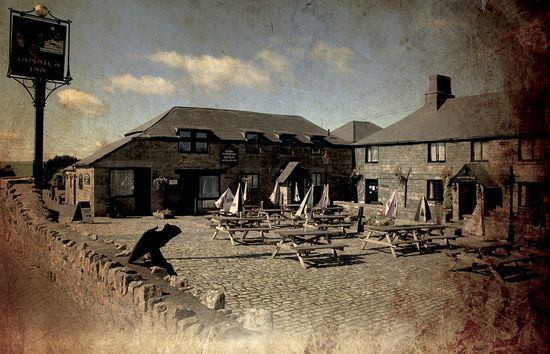 Jamaica Inn. (Condado de Cornwall, Reino Unido).