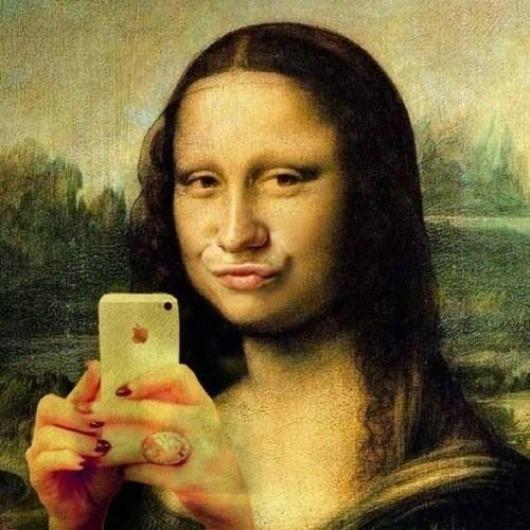 Mona-Lisa-Selfie