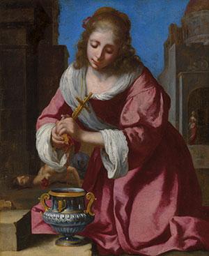 Vermeer santa