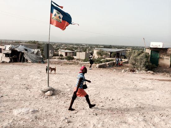 Bandera.Haiti.Canaan