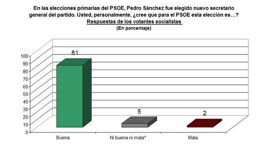 Pedro Sánchez elección