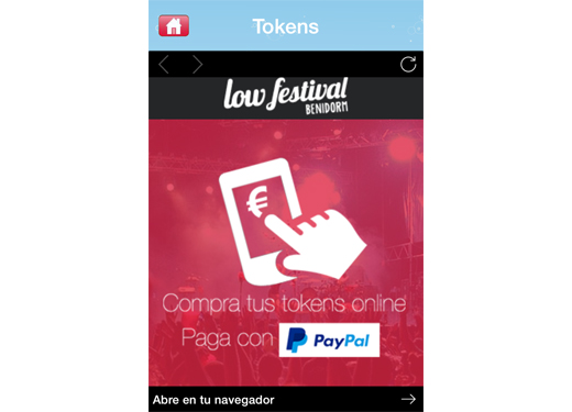 Pago movil low festival