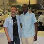 Andoni Aduriz  junto con Almamy