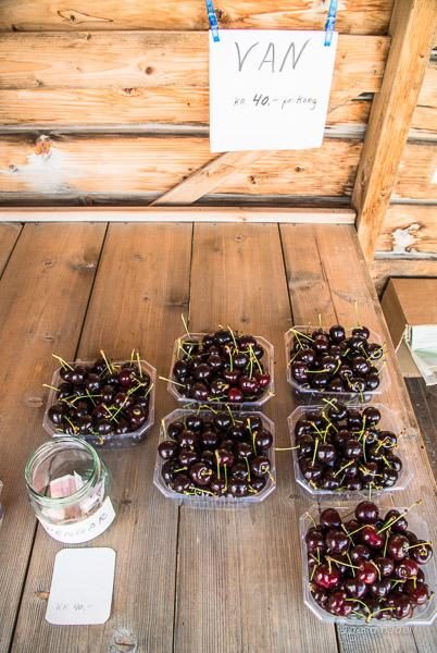 Quiosco de cerezas Noruega 2
