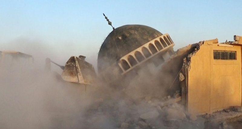 Ahmed al-Rifai shrine and tomb in Mahlabiya