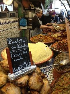 Apabullante oferta en el restaurante marroquí