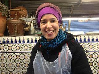 Cocinera marroquí