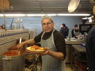 Cocinero marroquí