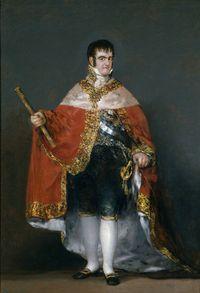Goya-Fernando VII