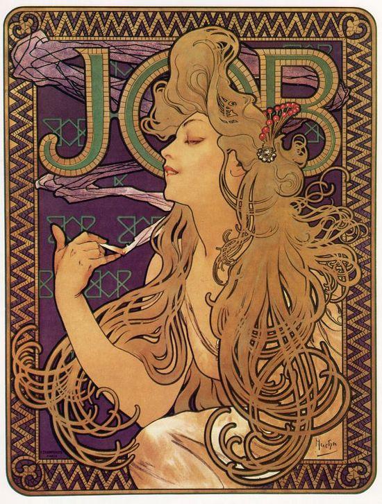 Job, de Alfons Mucha