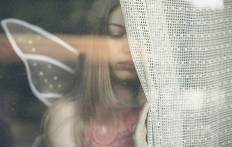 'Mujer mariposa' de Abel Vilche