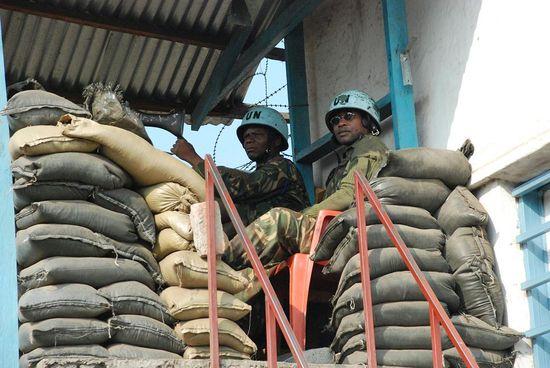 Base militar DDR, Goma