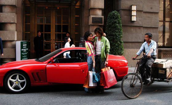 Ferrari en chian