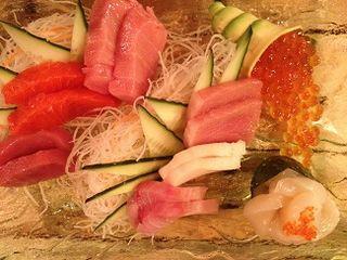 Surtido de sashimi
