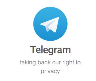Privacidad telegram