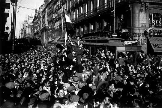 Republica madrid proclamacion