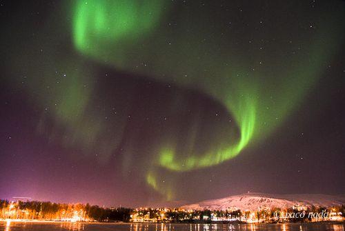Aurora boreal en Tromso 2-Paco Nadal