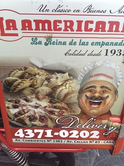 Cartel de La Americana