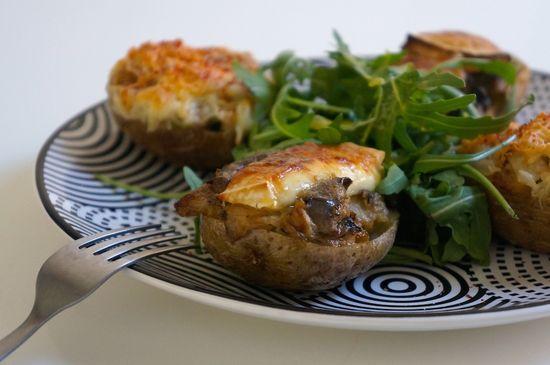 Patatas doble horneado