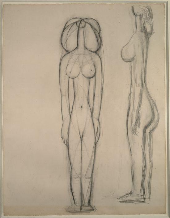 Femme nu (Françoise Gilot)