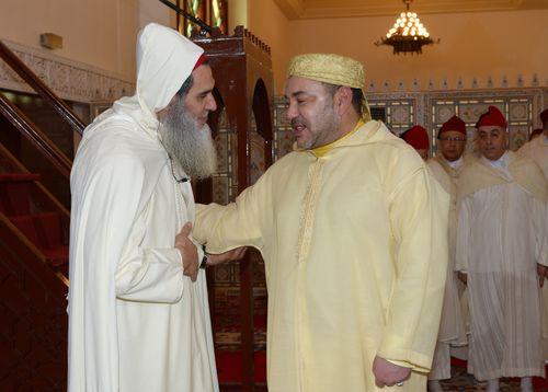SM le Roi -prièee du vendredi -mosquee Tarik Ibn Zyad - Tanger-G1