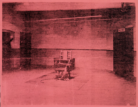 Warhol Little Electric Chair