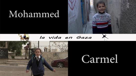 Cartel de 'Carmel y Mohammed'