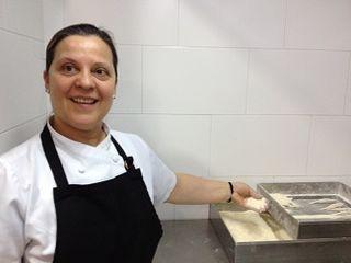 Teresa Ortiz, maestra en el dificil oficio de las frituras