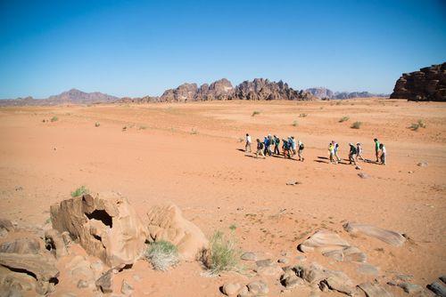 Senderismo en Wadi Rum-Paco Nadal