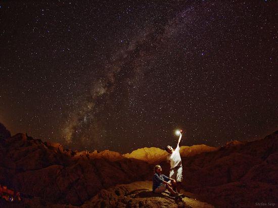 La Vía Láctea desde el desierto del Sinaí, Egipto Stefan Seip
